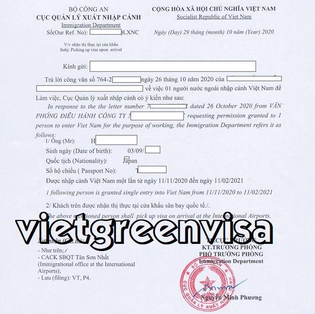 How to exit Visa Viet Nam   Viet Green Visa
