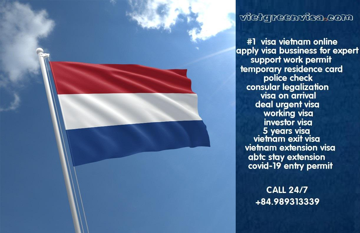 Vietnam visa on arrival service for residents in Netherlands