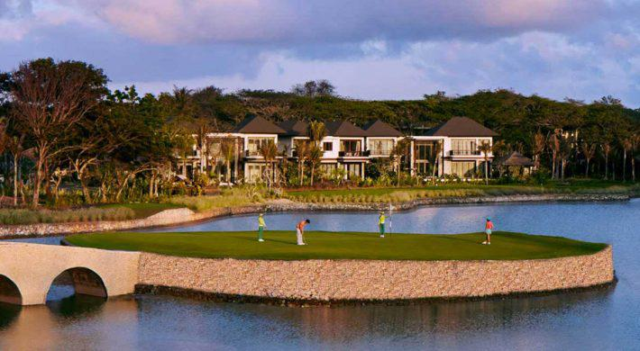 Enjoying & Experiencing Bali Luxury golf tour 6 days