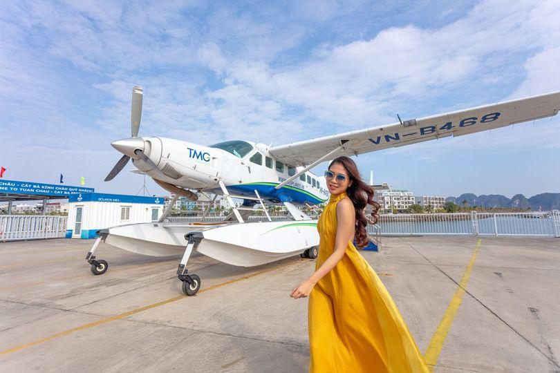One Day Halong Bay Seaplane Tour and Cruise