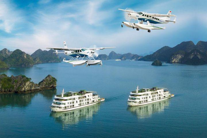 Emperor Cruises Halong and Seaplane Tour 2 days