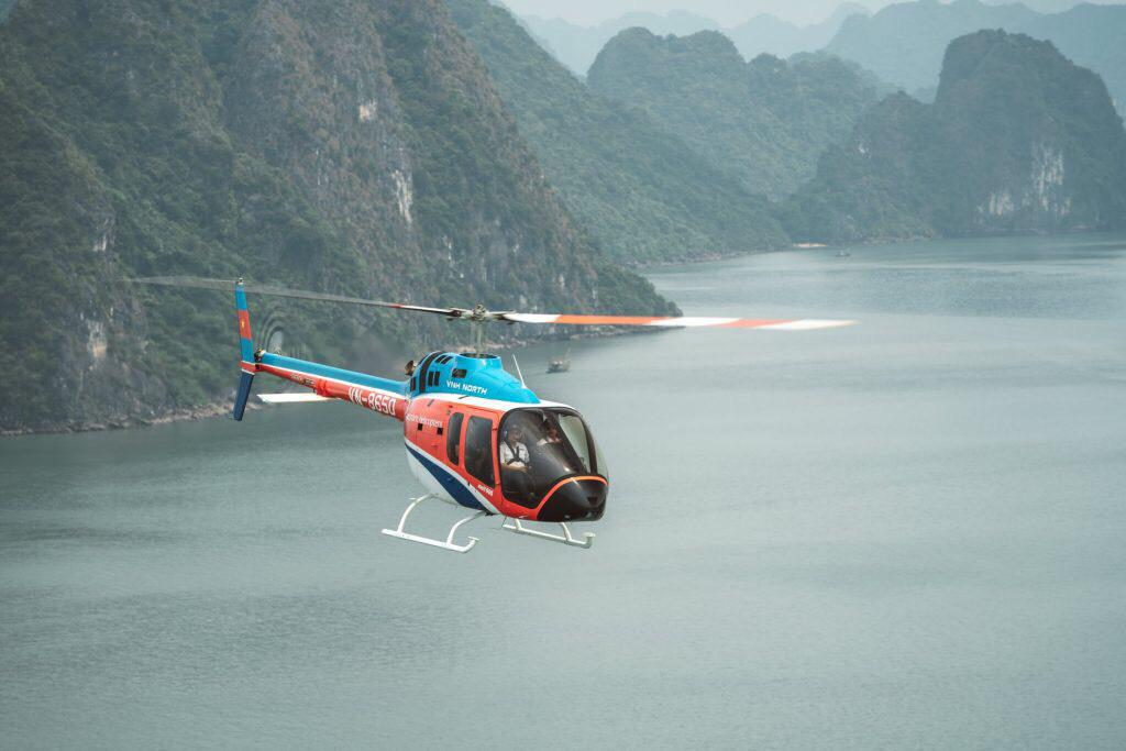 Exploring Ha Long Bay With Helicopter Tour 2 Days