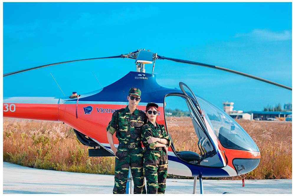 Da Nang Helicopter Tour Sightseeing 15 Munites